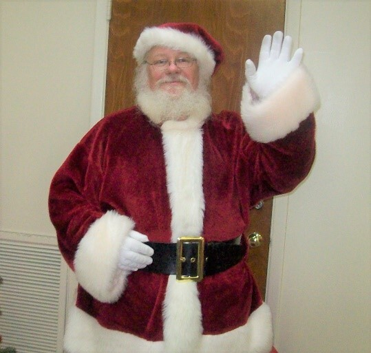 In Loving Memory - Don Chandanais in Santa suit
