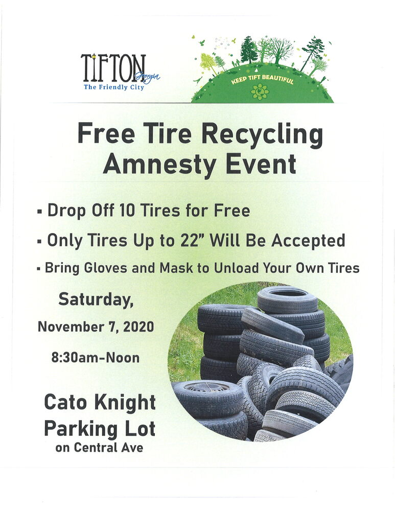 Free Tire Recycling