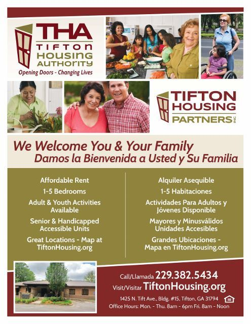 Bilingual THA Welcome Poster